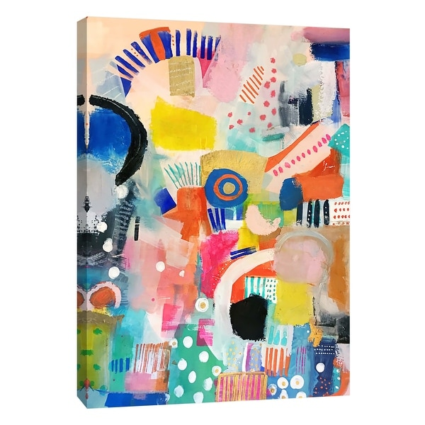 """PTM Images 9-105177 PTM Canvas Collection 10"""" x 8"""" - """"For Your Amusement"""" Giclee Abstract Art Print on Canvas"""