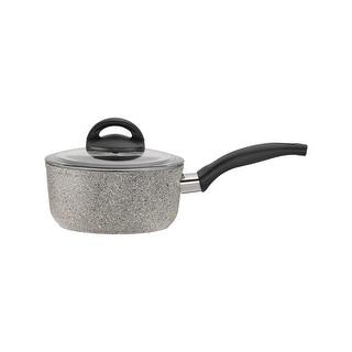 Ballarini Parma Forged Aluminun Nonstick Saucepan with Lid - Granite