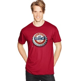 Men's Red, White & Brew Graphic Tee