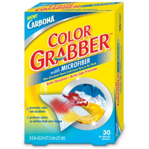 Carbona 474 Color Grabber with Microfiber, 30 Pack