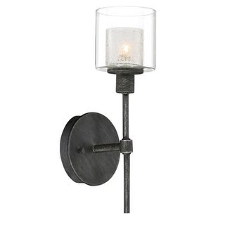 """Designers Fountain 89101 Cazadero Single Light 13"""" Tall Wall Sconces with Water"""