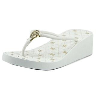 Bebe Rylie Open Toe Synthetic Flip Flop Sandal