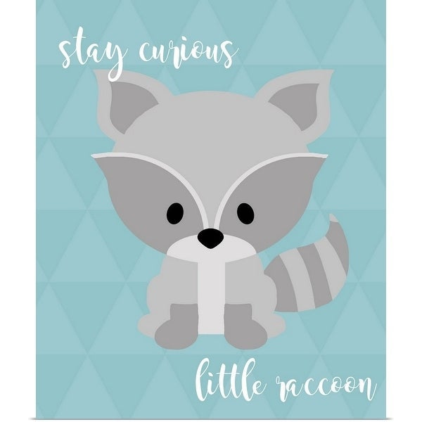 Shop Woodland Curious Raccoon - Multi-color - Free Shipping