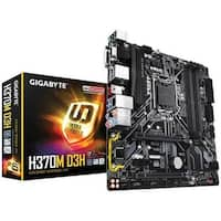 Gigabyte MB-H37MD3H Intel H370, DDR4 MicroATX Motherboard