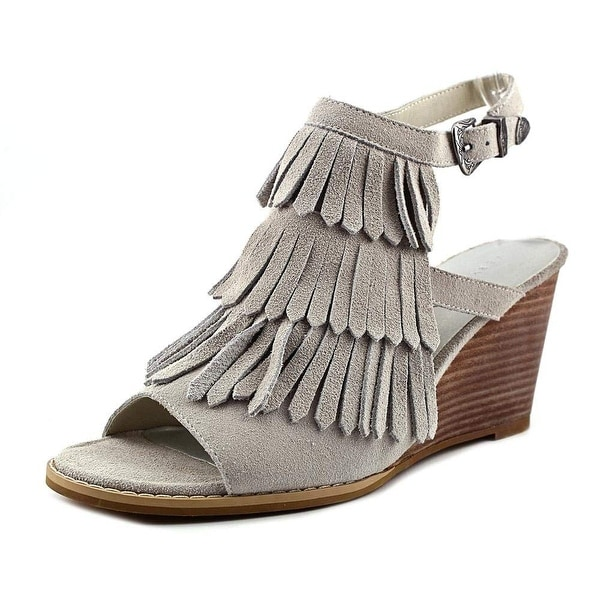 Very Volatile Womens notion Leather Open Toe Casual Platform Sandals