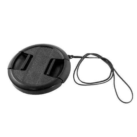 Unique Bargains Camera Lens Filters Cap Plastic Clip On Cover Black 52mm