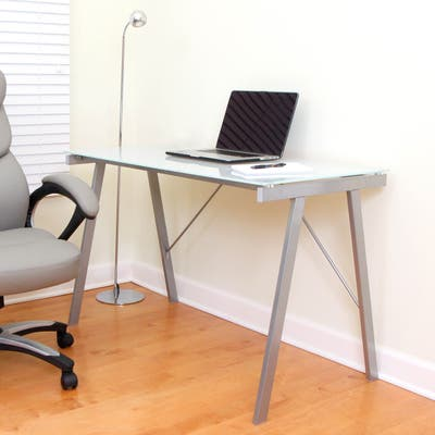 White Exponent Office Desk/Drafting Table