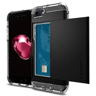 Spigen Crystal Wallet Case for iPhone 7 in Black
