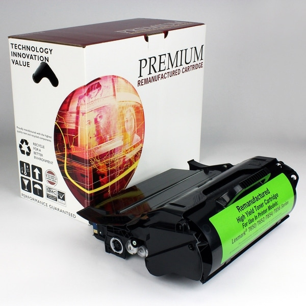 Re Premium Brand replacement for Lexmark T650 Toner High Yield PR (25,000 Yield).