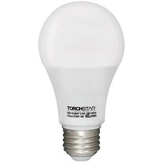 1 PACK/6 PACK A19 9.5W60W Equivalent LED Light Bulb,800 lumens,2700K Soft White/5000K Daylight