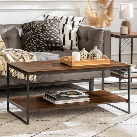 Carbon Loft 40-inch Industrial Coffee Table