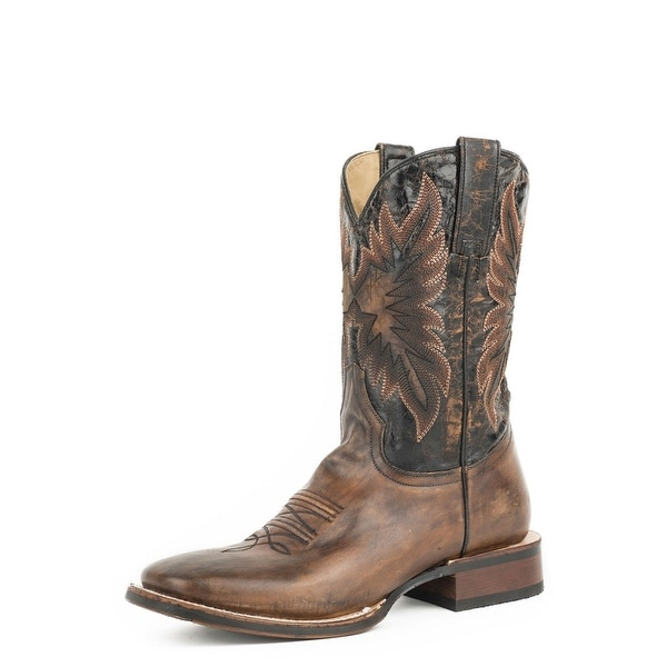 Shop Stetson Western Boots Mens Holliday Pull On Black