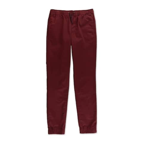 Aeropostale Boys Solid Casual Jogger Pants