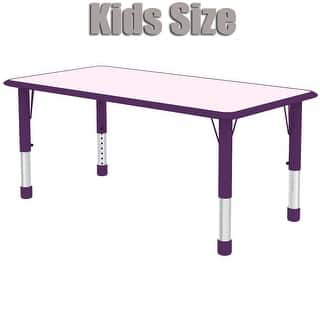 2xhome - Purple Kids Table Height Adjustable Rectangle Shape Activity Table School Table Childs Bright Colorful Table Preschool|https://ak1.ostkcdn.com/images/products/is/images/direct/ec2fd59f6649aaf30921f72bd1e8e8fbf5abd431/2xhome---Purple---Kids-Table---Height-Adjustable-Rectangle-Shape-Childs-Laminate-Top-Fun-Table-Bright-Colorful-24%22-x-48%22.jpg?impolicy=medium