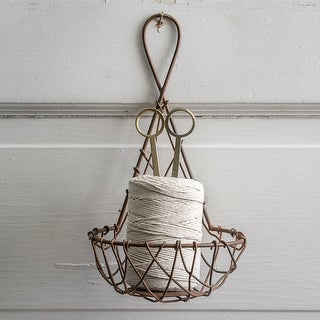 Hanging Twine Feeder Basket with Scissors - 2 Pack