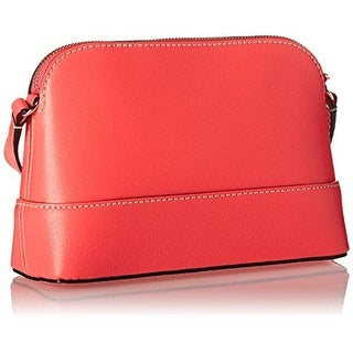 Kate Spade Womens Hanna Wellesley Leather Crossbody Shoulder Handbag - hotrose - SMALL