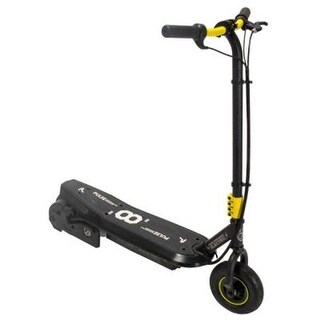 Bravo Sports 163229 Sonic XL Electric Scooter in Black and Yellow