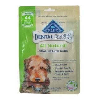 Blue Buffalo Dental Bones - Mini Mini - 44 Pack - (Dogs 5-15 lbs)