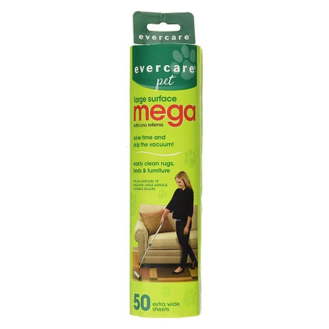 Evercare Pet Extreme Stick Mega 50 Sheet Refill - 50 Sheet
