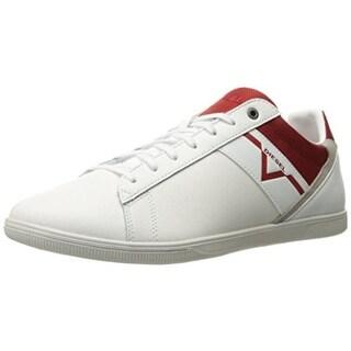 Diesel Mens Fashion Sneakers Leather Signature - 10 medium (d)
