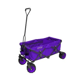 Link to Creative Outdoor All-Terrain Folding Wagon, Purple Similar Items in Bicycles, Ride-On Toys & Scooters