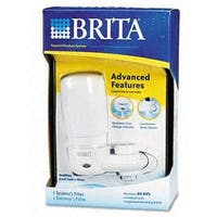 Brita 42201-2-WHT Ultra Faucet Filter - White pack of 4