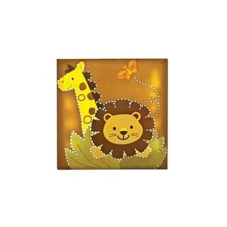 "Babies""R""Us Safari Lion Wall Decor Light Up Giraffe"