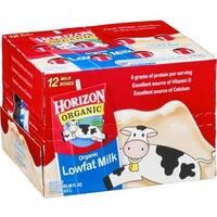 Horizon Organic Dairy - 1% Milk Club Pack ( 12 - 8 FZ)