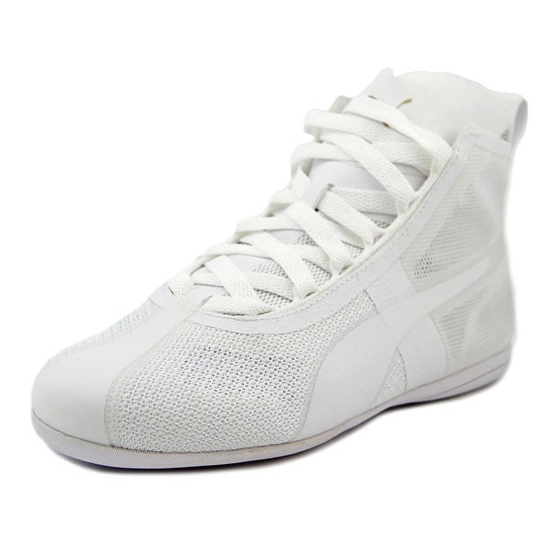 Puma Eskiva Mid EVO Women Round Toe Synthetic White Sneakers