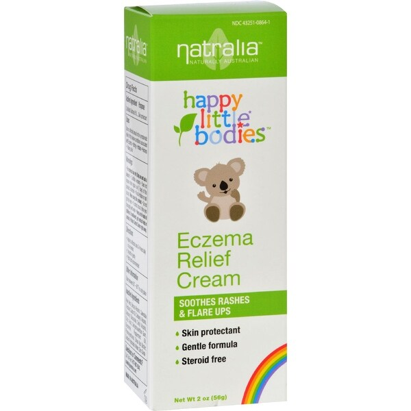 Happy Little Bodies Eczema Relief Cream - Natralia - 2 oz