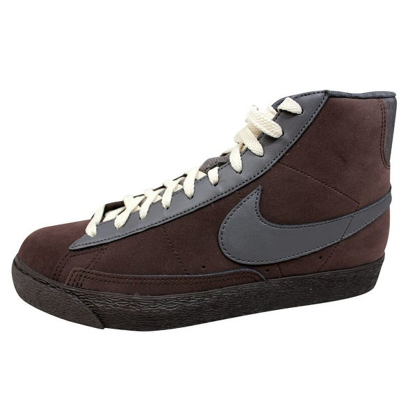 Nike Men's Blazer Hi Premium Dark Cinder/Midnight Fog 312457-201