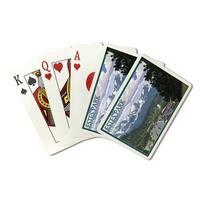 Estes Park, Colorado - Town Scene - LP Artwork (Poker Playing Cards Deck)
