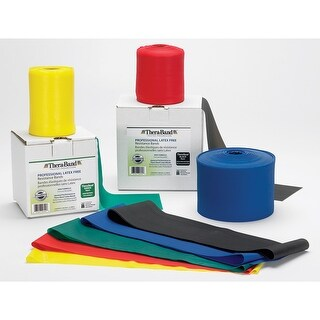 Thera-Band Latex-Free Professional Resistance Band - 50 Yard Rolls