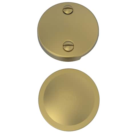 Brasstech 273 Solid Brass Toe Activated Drain Kit -