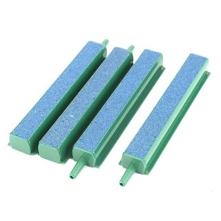 "Aquarium Fish Tank 4"" Royal Blue Mineral Bubbles Air Stone Airstone Bar 4 Pcs"