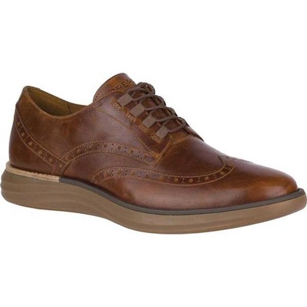 Regatta Wingtip Sneaker Brown Leather