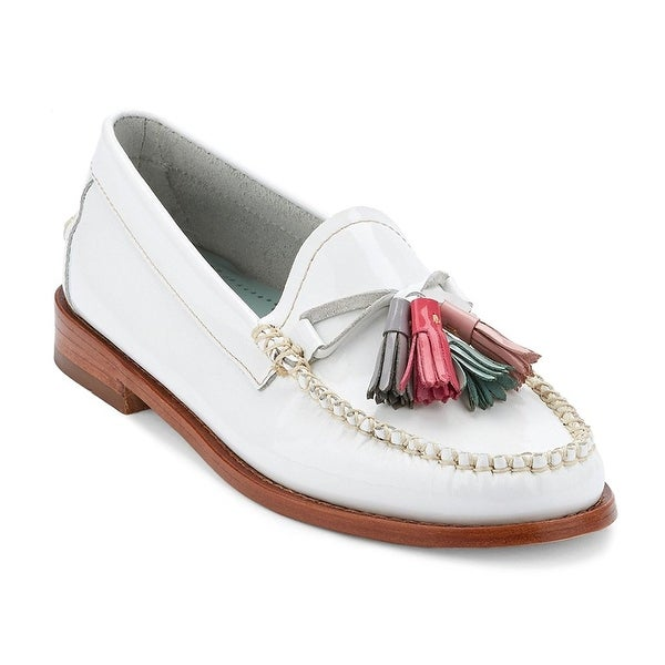 G.H. Bass & Co. Womens Penny Leather Almond Toe Loafers
