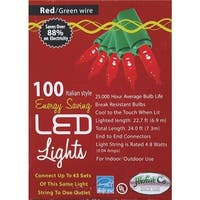 J. Hofert 100Lt Led Mini Red Light 2290-03 Unit: EACH