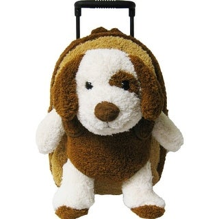 Kreative Kids Boys Brown Puppy Plush Cute Stylish Animal Roller - One size