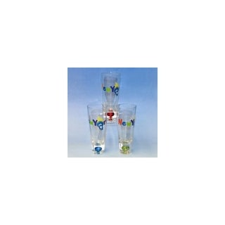 Club Pack of 12 Bubble Shooter Shot Glasses with New York City Torch Design