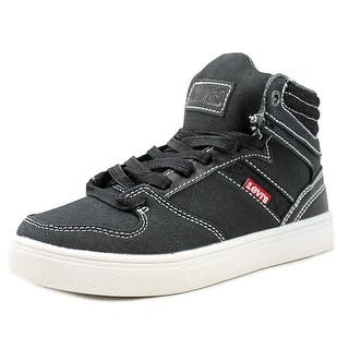 Levi's Brentwood Core Youth Round Toe Canvas Black Sneakers https://ak1.ostkcdn.com/images/products/is/images/direct/ec405268cbeca4160b074e1e1b39b91c467a8d24/Levi%27s-Brentwood-Core-Youth-Round-Toe-Canvas-Black-Sneakers.jpg?impolicy=medium