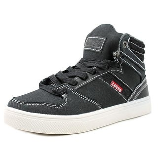 Levi's Brentwood Core Youth Round Toe Canvas Black Sneakers