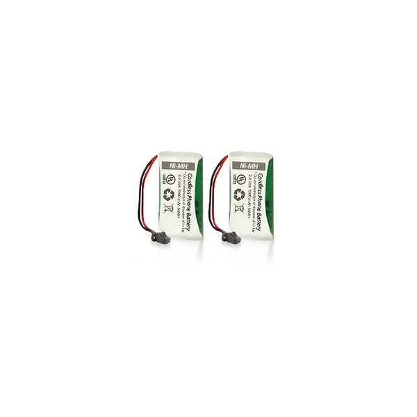 Replacement Battery For Uniden D1780-4 Cordless Phones - BT1008 (700mAh, 2.4V, Ni-MH) - 2 Pack
