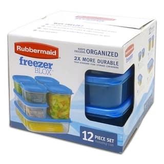 Rubbermaid Freezer Blox 12-Piece Food Storage Set, Clear-Blue|https://ak1.ostkcdn.com/images/products/is/images/direct/ec40f0ef67ca7fc2134c90dcf498aeab1121e6eb/Rubbermaid-Freezer-Blox-12-Piece-Food-Storage-Set%2C-Clear-Blue.jpg?impolicy=medium