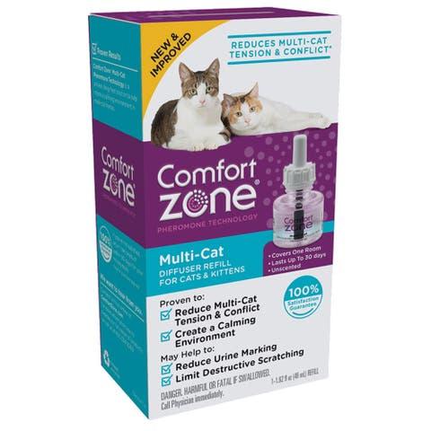 Comfort Zone Cat Multicat Diffuser Refill 1 Pack - 1 refill