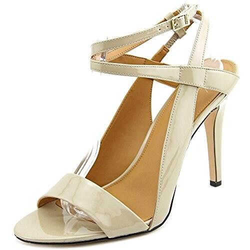 Calvin Klein Womens Meville Open Toe Ankle Strap Classic Pumps