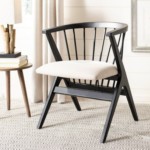 "Safavieh Noah Spindle Dining Chair (Set of 2) - 19"" x 18"" x 19"""
