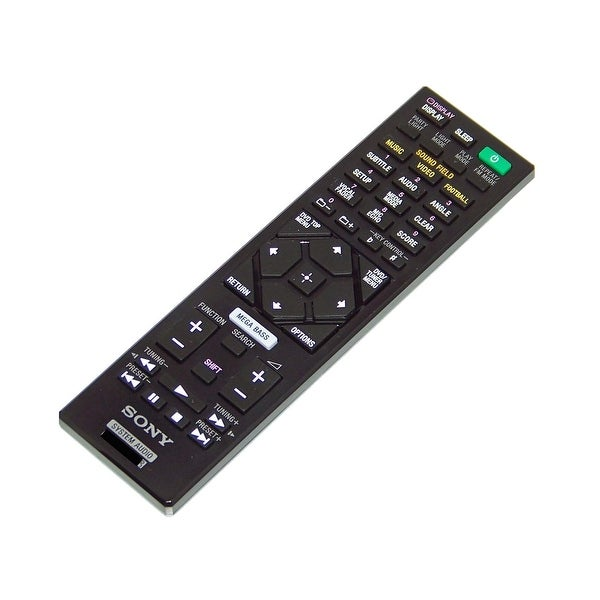 OEM Sony Remote Control Originally Shipped With: MHC-V44D, MHC-V50D