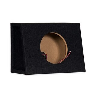 "8F Sealed 8"" Single Slim Car Bass Box Speaker Enlosure Cabinet for Truck SUV"