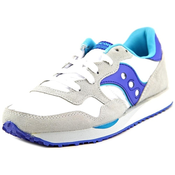 Saucony Dxn Trainer Round Toe Leather Sneakers